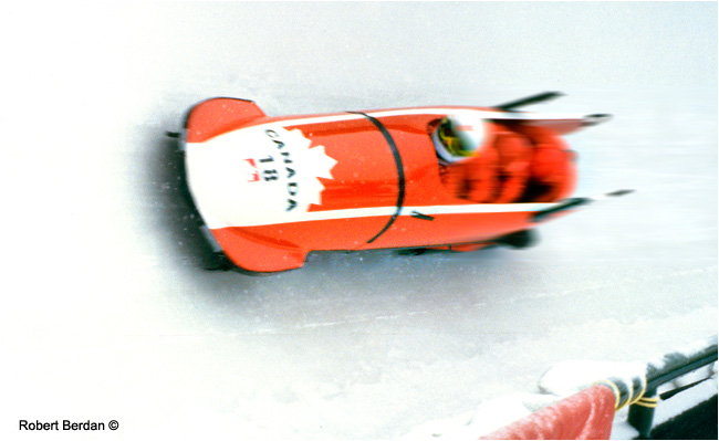 Canadian Bobsled by Robert Berdan ©