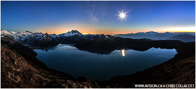 Midnight blues, Garibalid Lake Provincial Park, BC by Chris Collascott ©