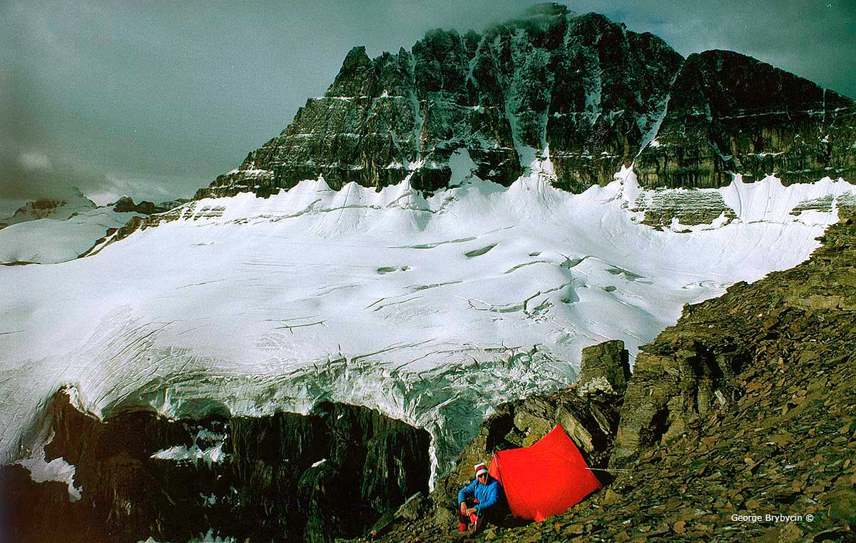 George Brybycin on Mt. Sarback ©