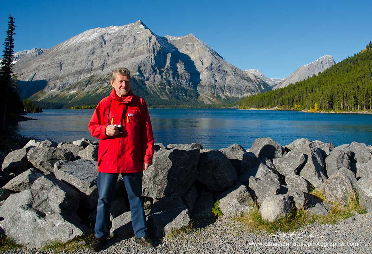 George Brybycin Upper Lake Kananaskis by Robert Berdan 2012 ©
