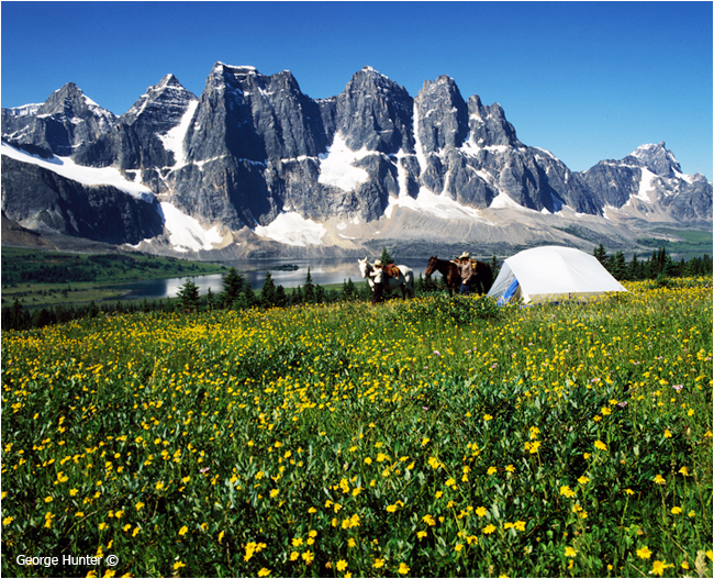 Tonquin Valley, Jasper National Park, Alberta by George Hunter ©