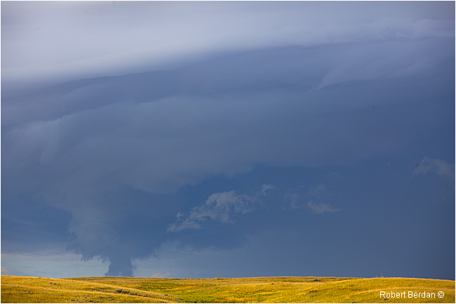Funnel cloud over the Grasslands by Robert Berdan ©