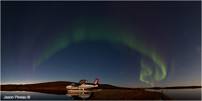 Northern Lights over Point Lake, NWT by Jason Pineau ©