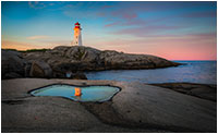 Peggy's Cove Lighthouse by Robert Berdan ©