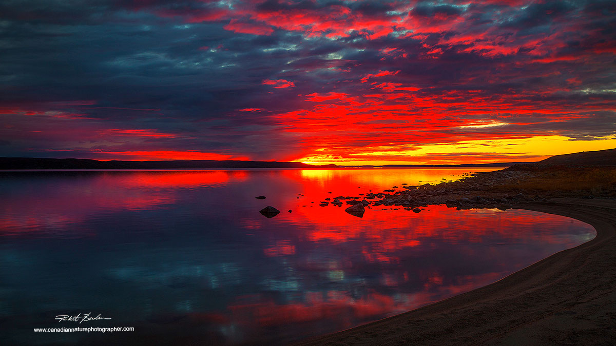 Sunrise point Lake, NT by Robert Berdan ©