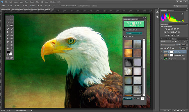 Screen shot of Adobe Photoshop CC