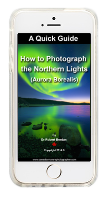 Quick Guide to Photographing the Aurora borealis on Iphone by Robert Berdan
