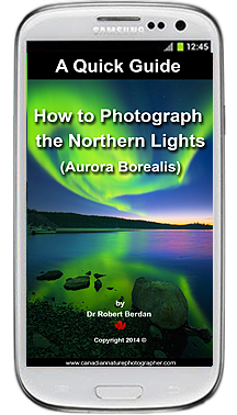 Quick Guide to Photographing the Aurora borealis on Samsung Phone by Robert Berdan ©
