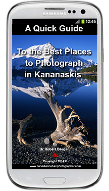 Quick Guide to the Best Places to Photograph in Kananaskis by Robert Berdan ©