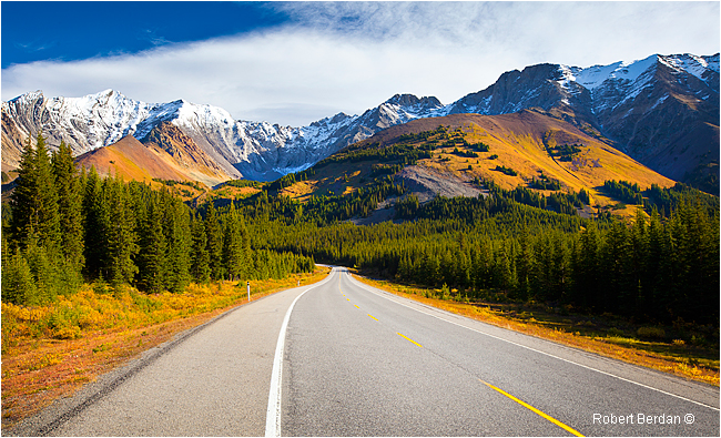 Highway 40 Kananaskis by Robert Berdan ©