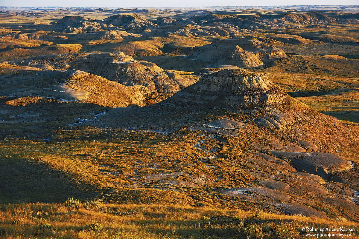 Killdeer Badlands by Robin and Arlene Karpan ©