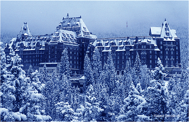 Banff Springs Hotel by Robert Berdan ©