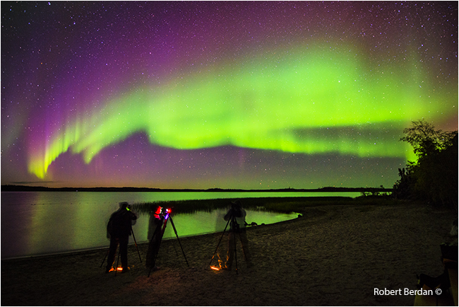 Photographers on beach at Prelude Terrotorial park by Robert Berdan ©