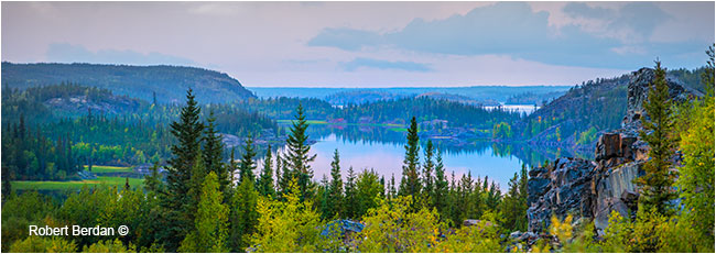 lakes next to the Ingraham trail by Robert Berdan ©