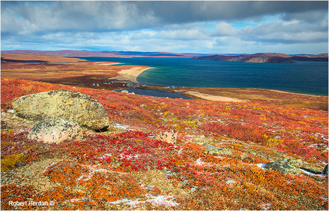 Point lake and Point lakd lodge Northwest Territories by Robert Berdan ©