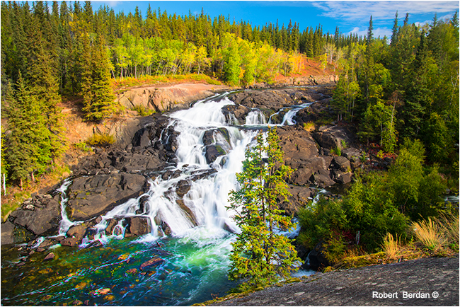 Cameron falls near Yellowknife by Robert Berdan ©