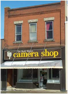 Budd Watson Camera store by Jennifer Harker