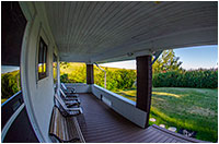 Reesor Ranch home porch by Robert Berdan ©