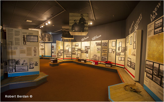 Inside Museum at Fort Walsh by Robert Berdan ©