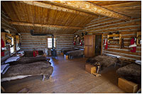 Barracks at Fort Walsh by Robert Berdan ©