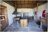 Metal shop at Fort Walsh by Robert Berdan