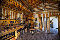 Wood working shop at Fort Walsh by Robert Berdan ©