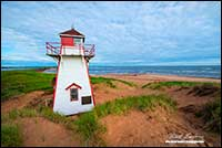 Lighthouse Prince Edward Island National Park by Robert Berdan