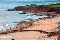 Beach Prince Edward Island National Park by Robert Berdan