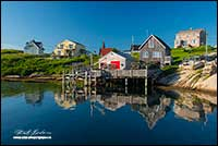 Peggy's Cove Nova Scotia by Robert Berdan