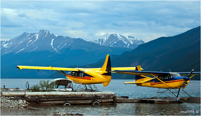Munch Lake float planes by Egan Wuth ©