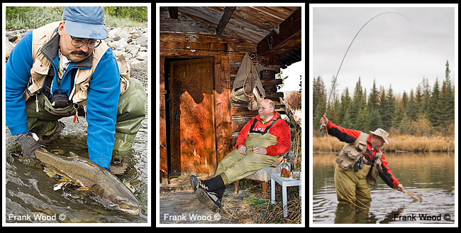 Fishing portraits by frank Wood ©