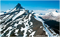 Rocky Mountains from Helicopter by Robert Berdan ©