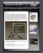 Science & Art Multimedia web site