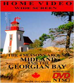Home DVD of Midland and Georgian Bay by Karl Berdan $25