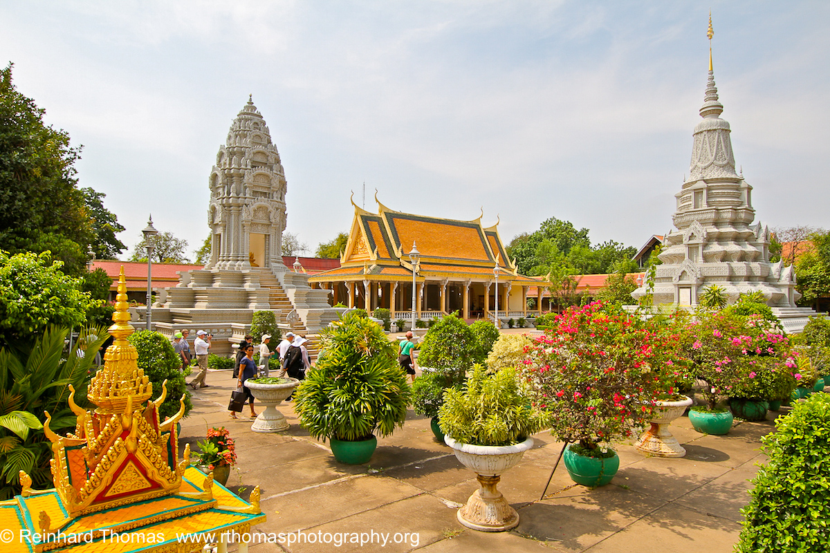 Pagodas and Temples Cambodia by Reinhard Thomas ©