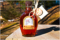 Canadian maple syrup in a bottle by Karl Berdan ©
