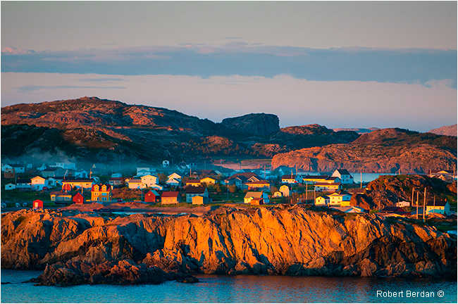 Twillingate at sunset by Robert Berdan ©