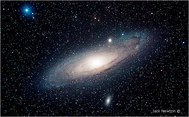 Andromeda galaxy by Jack Newton ©