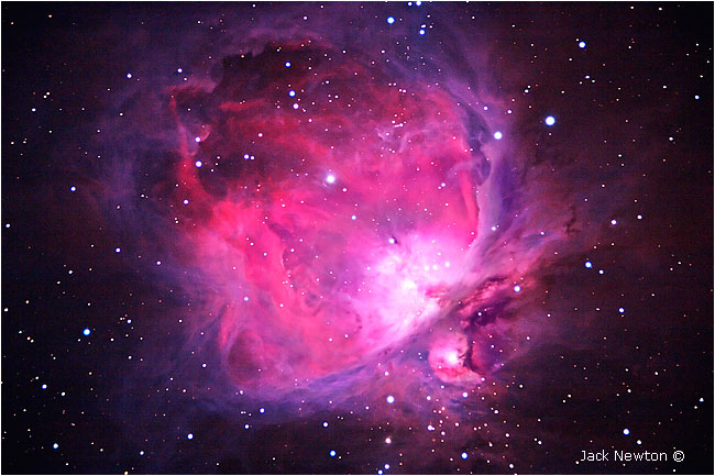 Orion Nebula by Jack Newton ©