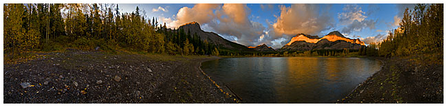 Wedge Pond 360 panorama by Robert Berdan ©
