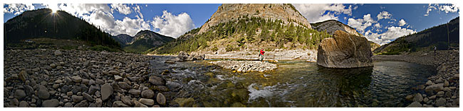 Oldman river panoram by Robert Berdan ©