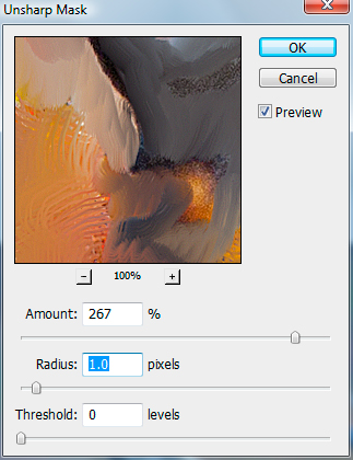 Simulate Oil Painting In Photoshop