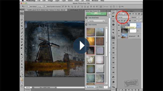 Adobe Paper Textures Pro video link