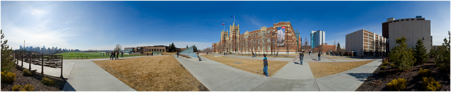 Panorama of SAIT by Robert Berdan ©