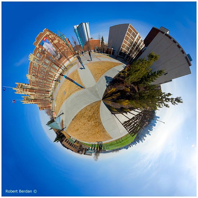 panoramic planet photography of SAIT by Robert Berdan ©