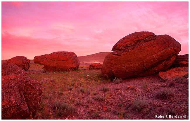 Red Rock coulee by Robert Berdan ©