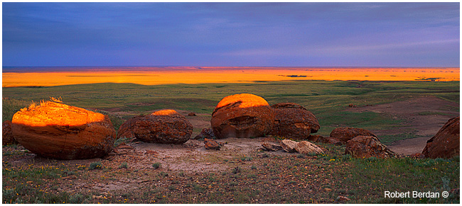 Red Rock coulee at first light by Roberrt Berdan ©