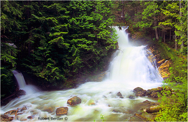 Lower falls on Mulvehill creek by Robert Berdan ©