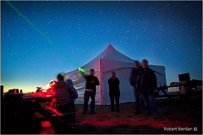 Star party by Robert Berdan ©