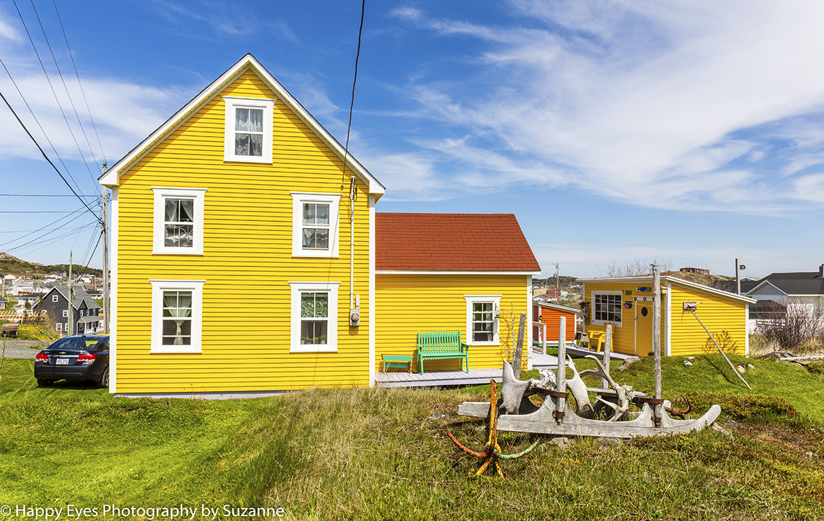 House Twillingate by Suzanne Roberts ©
